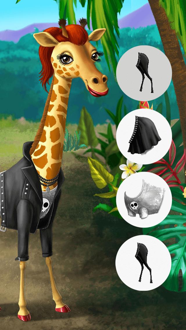 Baby Jungle Animal Hair Salon - No Ads screenshot 3