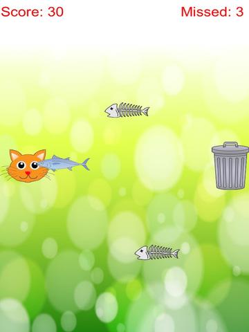 Distinguish Food And Rubbish: Feed Cute Cat With Fish Free screenshot 5