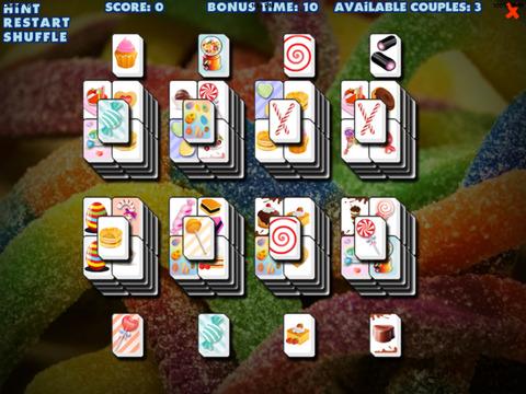 Mahjong : Free Candy Games screenshot 4