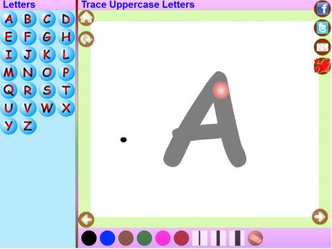Trace Telugu and English Alphabets Kids Activity screenshot 5