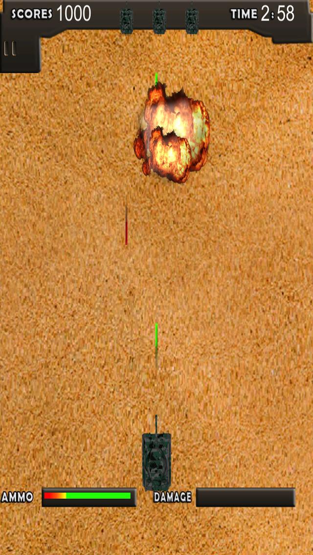 Free Tank Game Turbo Tank screenshot 3