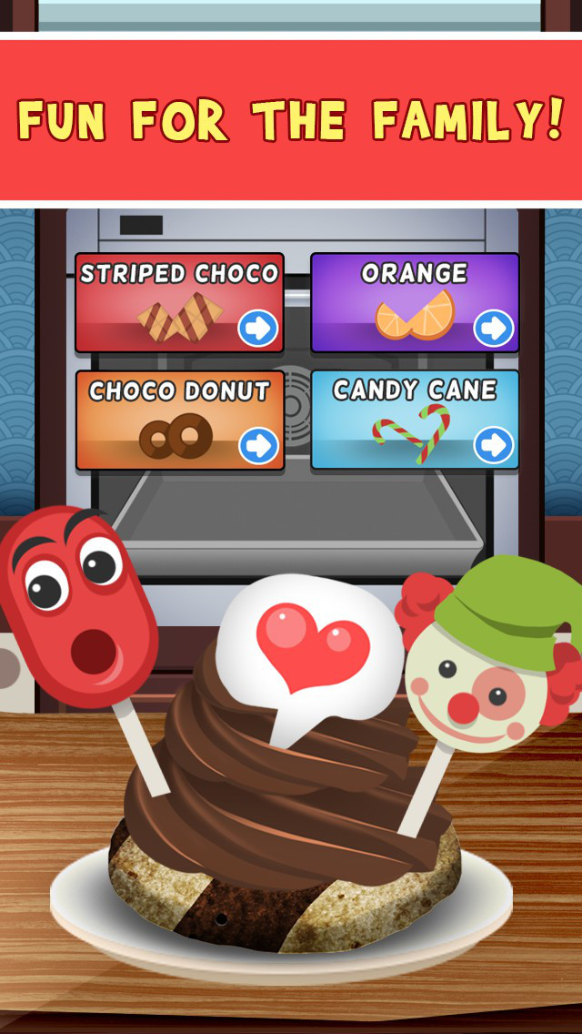 Amazing Delicious Cookies Dessert Maker - Food Baking Games screenshot 3