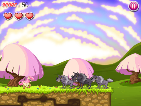 Amazing Miss Pony: Princess Fairy Tale Adventure Run Free by Top Crazy Games screenshot 7