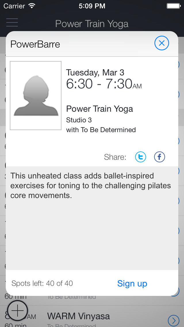 PowerTrainYoga screenshot 2