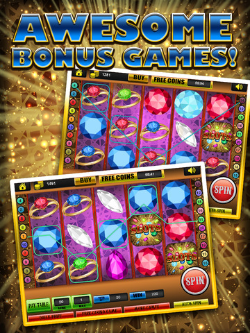 Ace Gem & Jewel Slots Jackpot Machine Games - Lucky Spin To Win Prize Wheel Casino Game Free screenshot 8