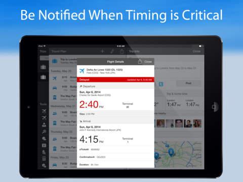 WorldMate Travel Plans & Flight Tracker screenshot 9