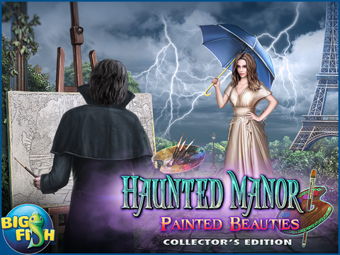 Haunted Manor: Painted Beauties HD - A Hidden Objects Mystery screenshot 5