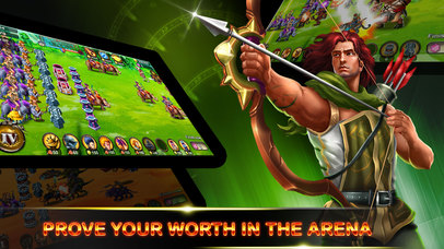 Heroes of Legend : Castle Defense screenshot 3