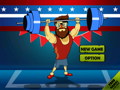 ` Hipster Weight Lifting: Tiny Meat Head Battle Competition Games screenshot 6