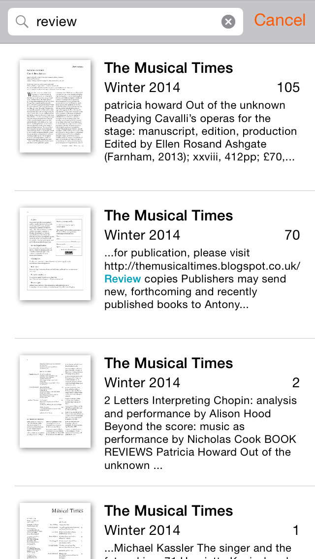The Musical Times screenshot 4