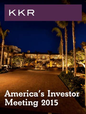 KKR's Americas Investors' Mtg. screenshot 3