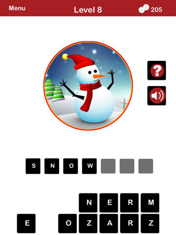 QUIZMAS PICS HOLIDAY TRIVIA - The Christmas Picture Word Trivia Game for the Holiday Season. screenshot 7