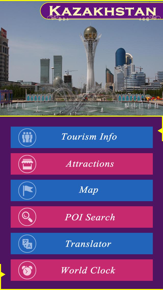 Kazakhstan Tourism Guide screenshot 2