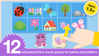 Preschool First Words Baby Toddlers Learning Games screenshot 1