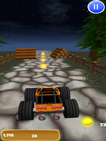 A Monster Truck Game 3D: 4x4 Off-Road Racing - FREE Edition screenshot 9