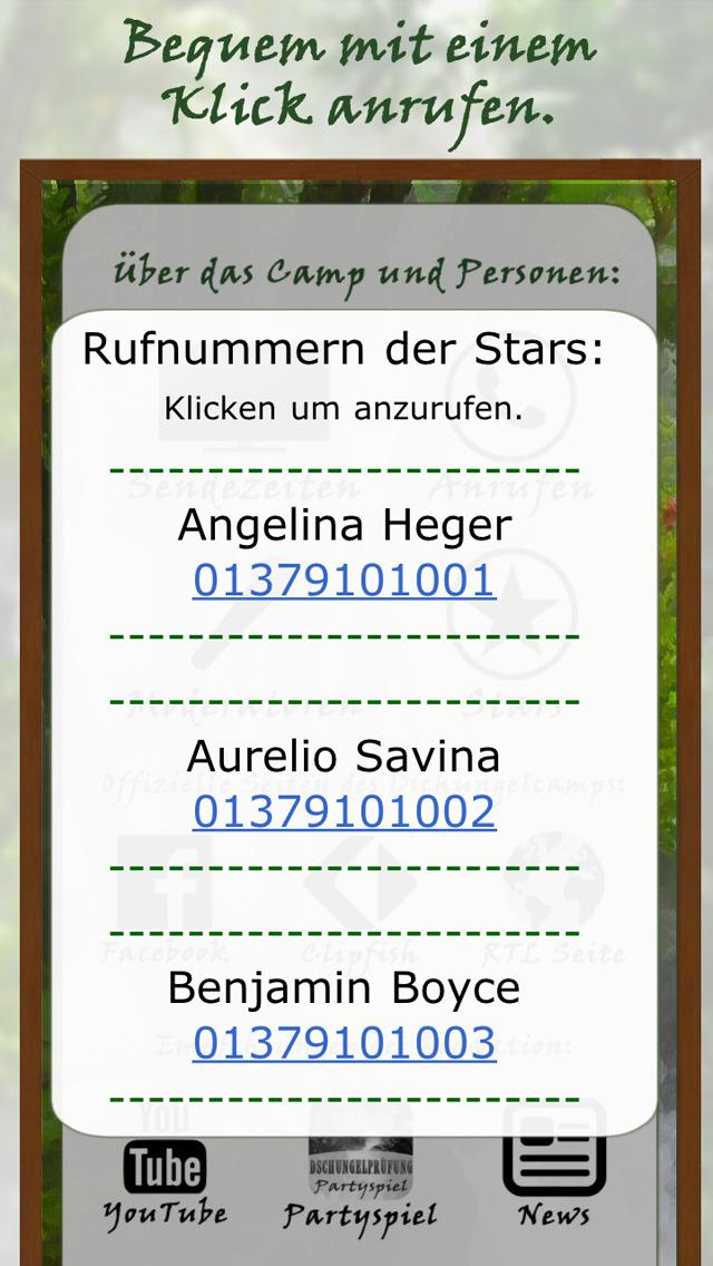 Dschungelcamp News App 2016 - Die neue Dschungel App mit allen Infos zu Stars und News über das Dschungelcamp! screenshot 5