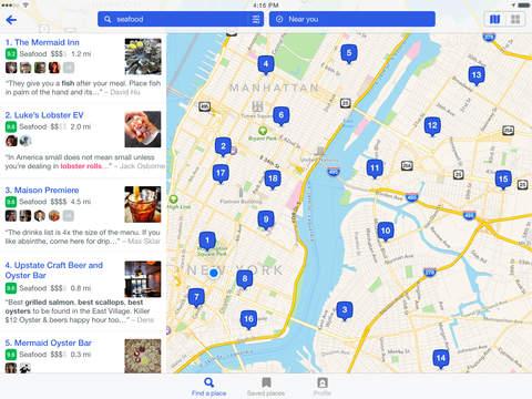 Foursquare City Guide screenshot 8