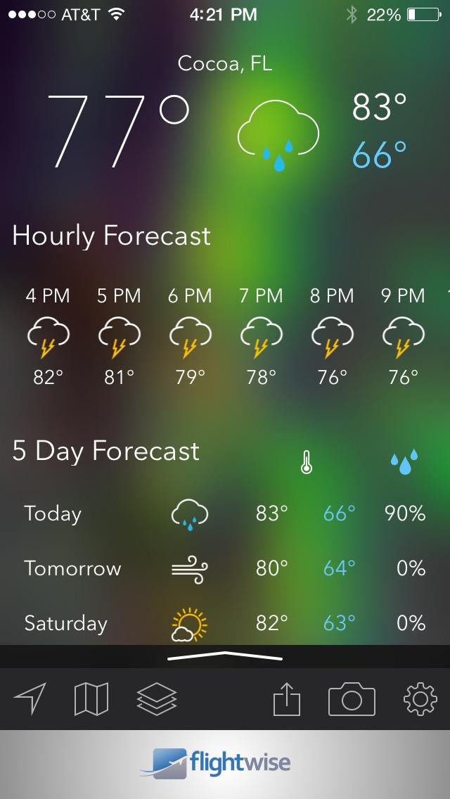 MyRadar NOAA Weather Radar screenshot 3