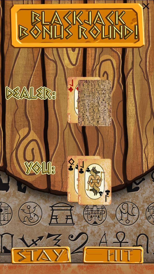 `Lucky Pharaoh Egypt Gold Treasure Temple Casino Slots Free screenshot 2