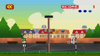 Free Basketball Game Flick It Free Throw Basketball Tricks screenshot 3
