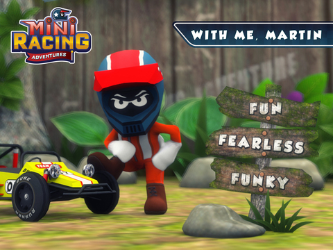 Mini Racing Adventures screenshot 7