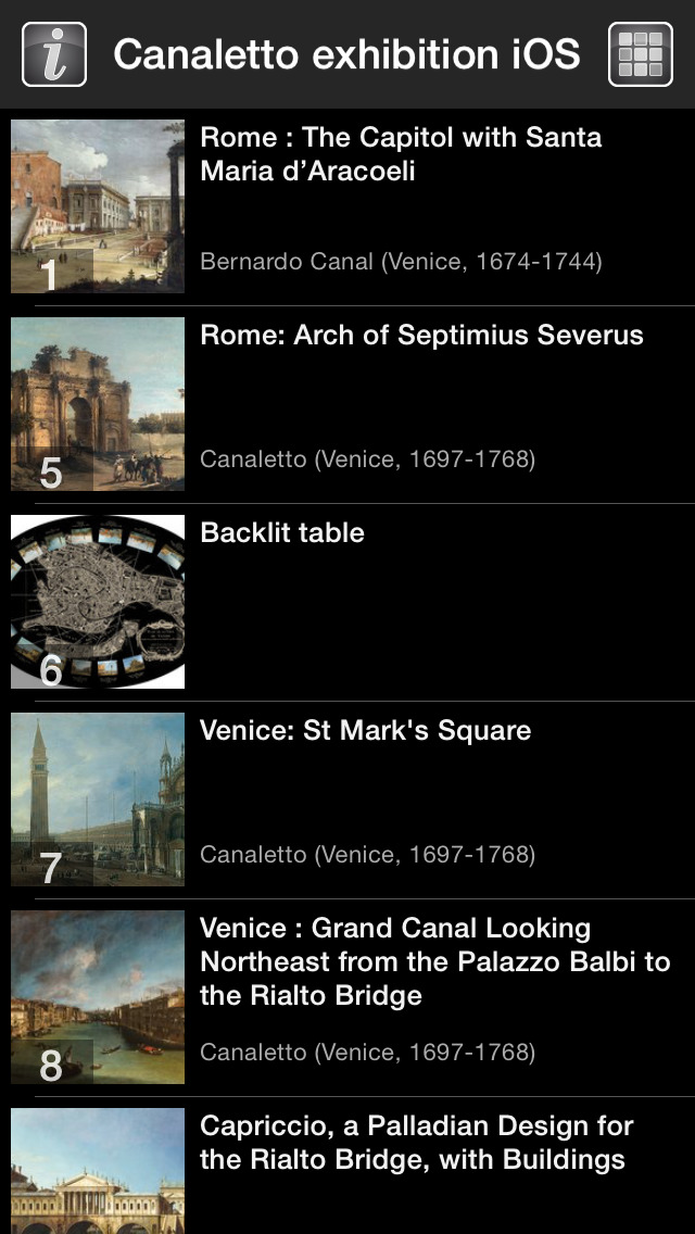 CANALETTO, Rome – London – Venice. The Triumph of Light screenshot 3