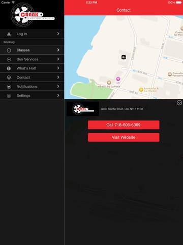 Crank Cycling Studio screenshot #4