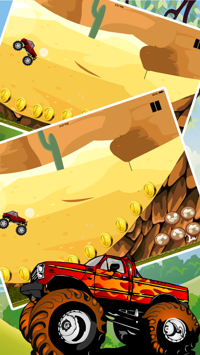 Angry Monster Truck Showdown Pro screenshot 3