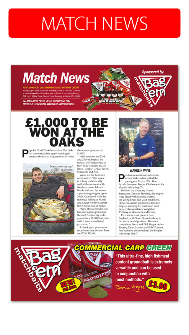 Match Fishing Magazine screenshot 3