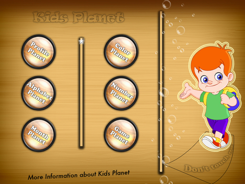 Kids Planet for Learning screenshot 2