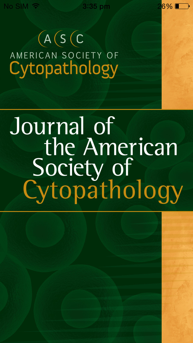 Journal of the American Society of Cytopathology screenshot 1