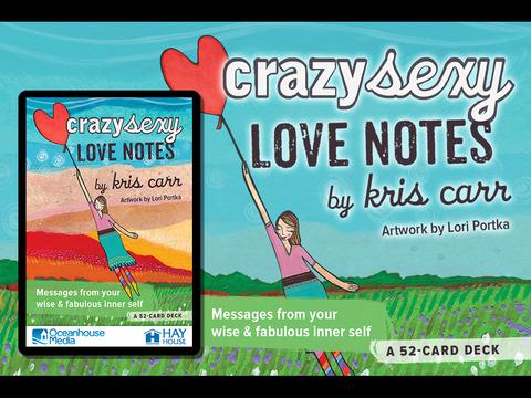 Crazy Sexy Love Notes - Kris Carr screenshot 5