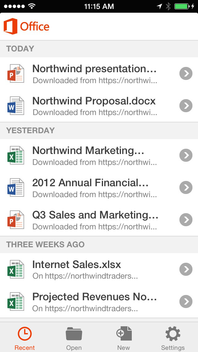 Office Mobile - replaced by new apps screenshot #5