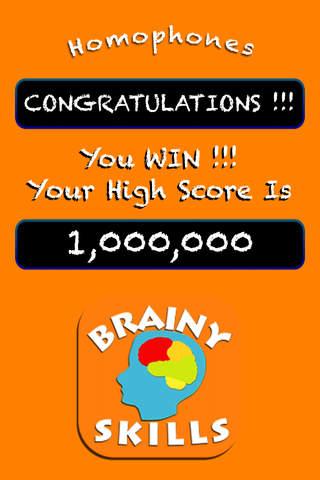 Brainy Skills Homophones - náhled