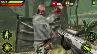 Forest Zombie Hunting 3D screenshot 1