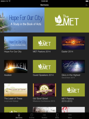 Metropolitan Bible Church screenshot 4