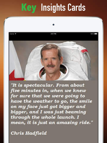 Practical Guide for An Astronaut's Guide to Life on Earth: Cards with Key Insights and Daily Inspiration screenshot 9