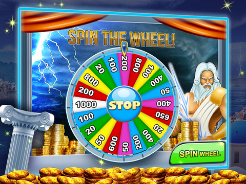 A Zeus Greek God High Roller Las Vegas Casino Slots Free screenshot 8