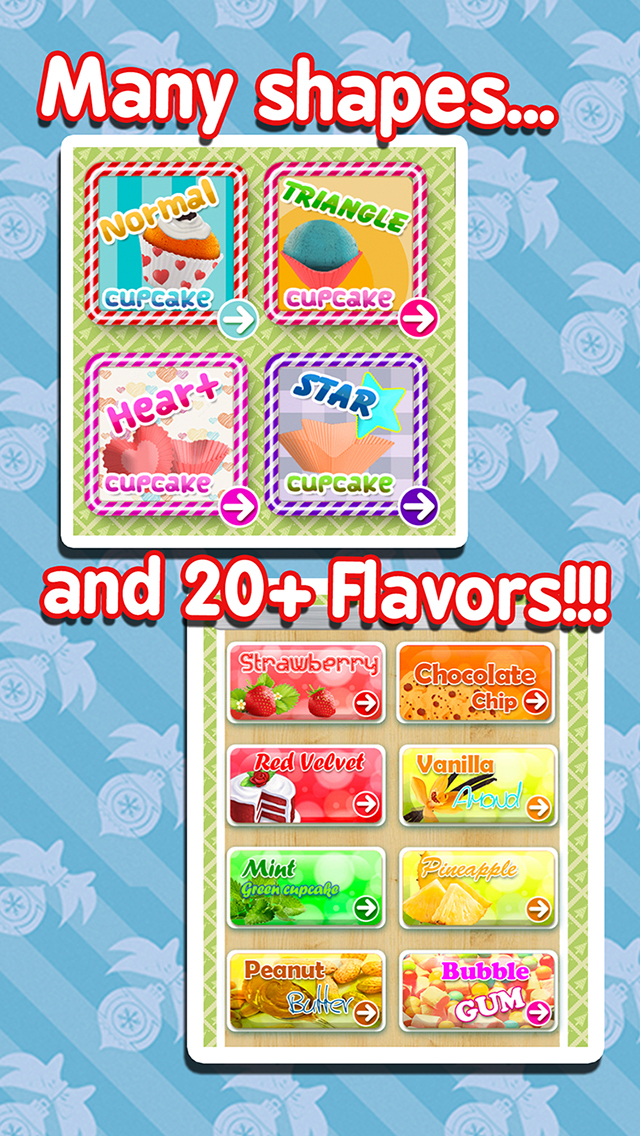 Cupcake Maker - Cooking Games! screenshot 4