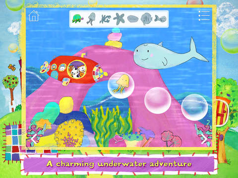 Poppy Cat and the Bubble Volcano Free screenshot 10