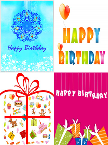 The Ultimate Happy Birthday Cards (Lite Version). Custom and Send Birthday Greetings eCard with emoji, text and voice messages screenshot 7