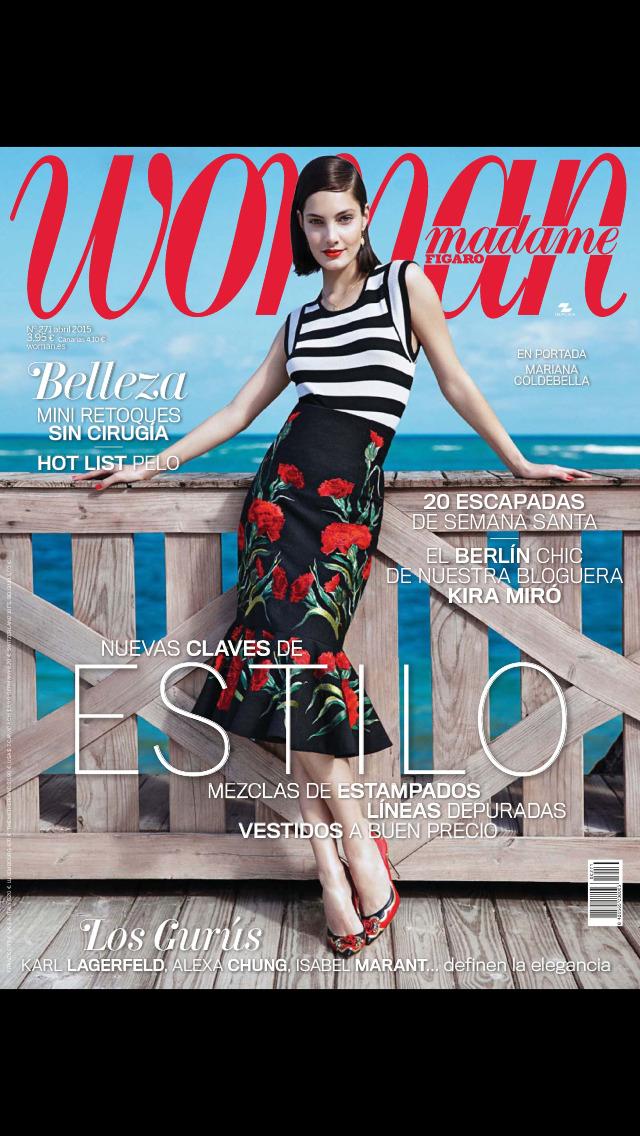 Woman Madame Figaro (revista) screenshot 1