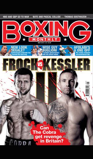 Boxing Monthly Magazine screenshot 1