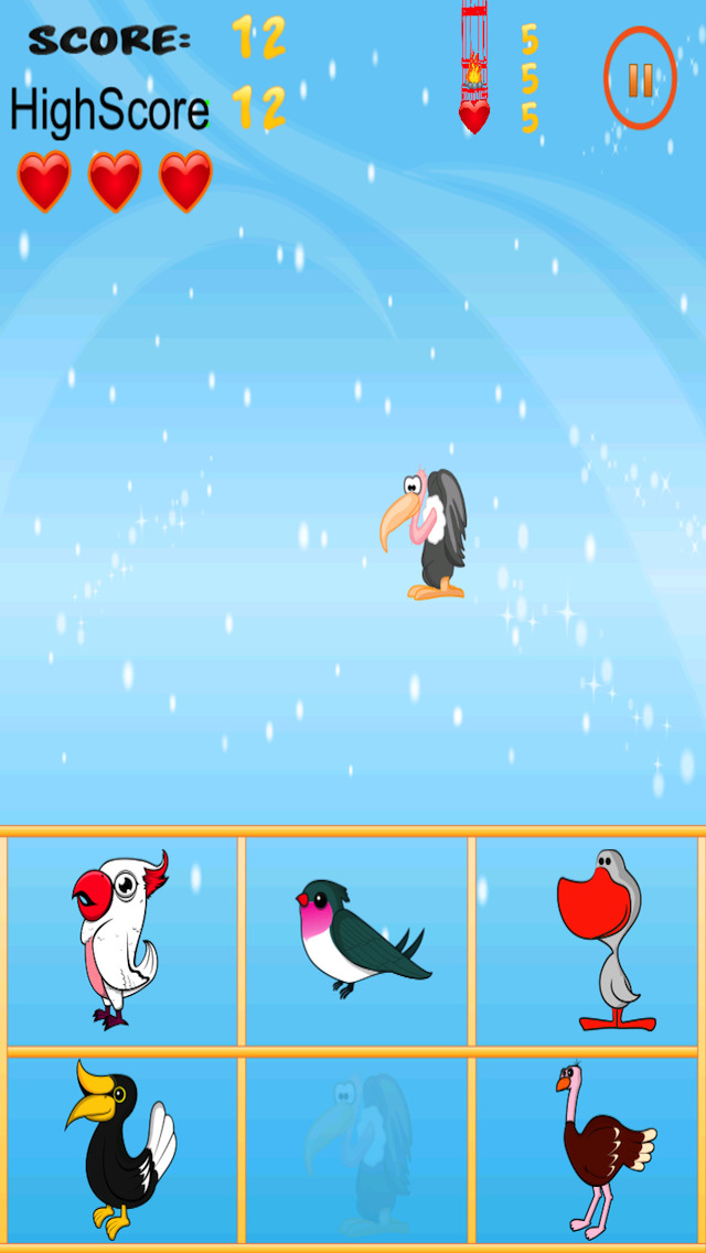 Free Bird Game American Bird Match And Catch screenshot 1