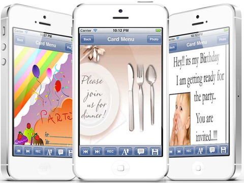 The Ultimate Invitation eCards - Customize and Send Invitation eCards with Invitation Text and Voice Messages screenshot 9