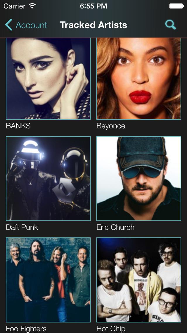 Thrillcall Live Music screenshot 2