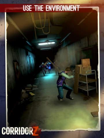 Corridor Z - Inverted Zombie Runner screenshot 8