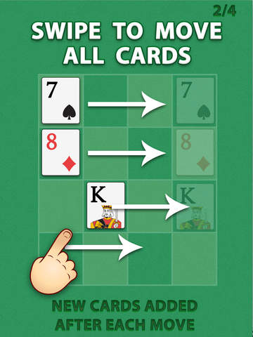 2048 Ace the Cards Puzzle screenshot 6