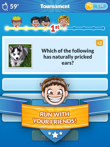 Quiz Run - Challenge your friends! screenshot 6
