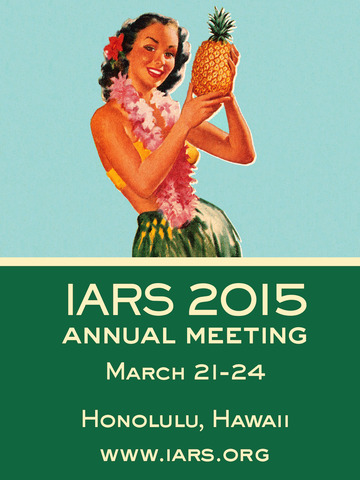 IARS 2016 Annual Meeting screenshot 4